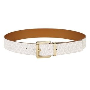 Michael Kors Reversible Signature Leather Belt
